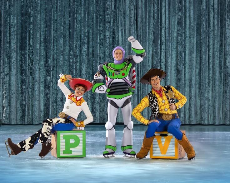 Woody, Buzz Lightyear and Jessie ©