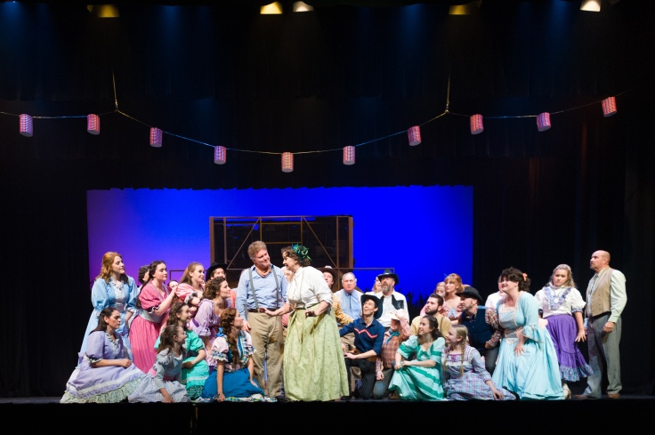 Cast of Oklahoma! Photo by Michelle Thomas at Christopher Thomas Photography (2)