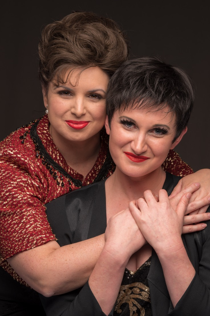 Vanessa Wainwright as Judy Garland _ Natalie Lennox as Liza Minnelli. Photography by Mark Duffus