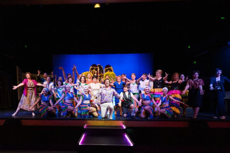 Cast of THE BOY FROM OZ - Image by Christopher Thomas Photography