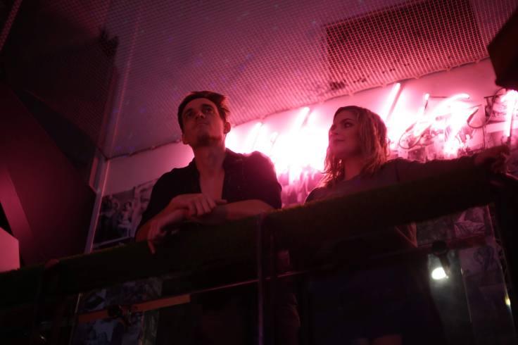 Fergus and Zoe (Arun Clarke and Elodie Boal)